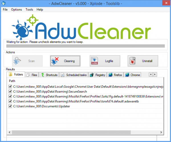 Adwcleaner 5 0 Ships With New Engine Windows Repair Tools