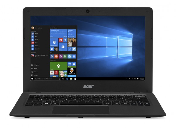 Aspire One Cloudbook AO1-131_straight on_Win10