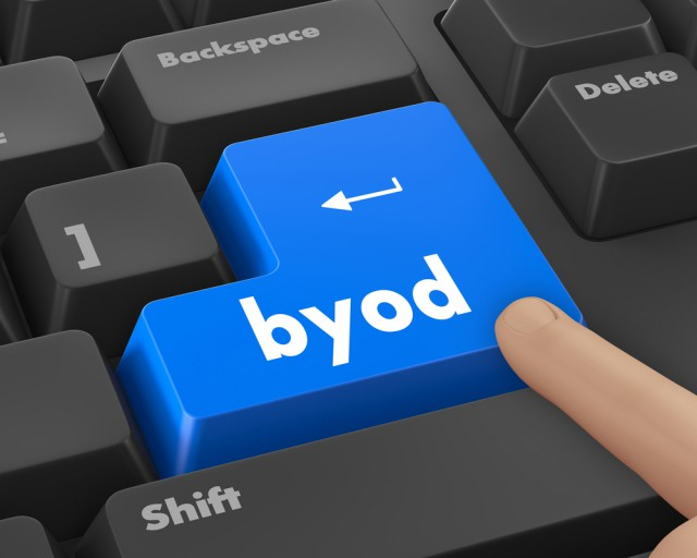 85 percent of companies permit BYOD but security remains a concern