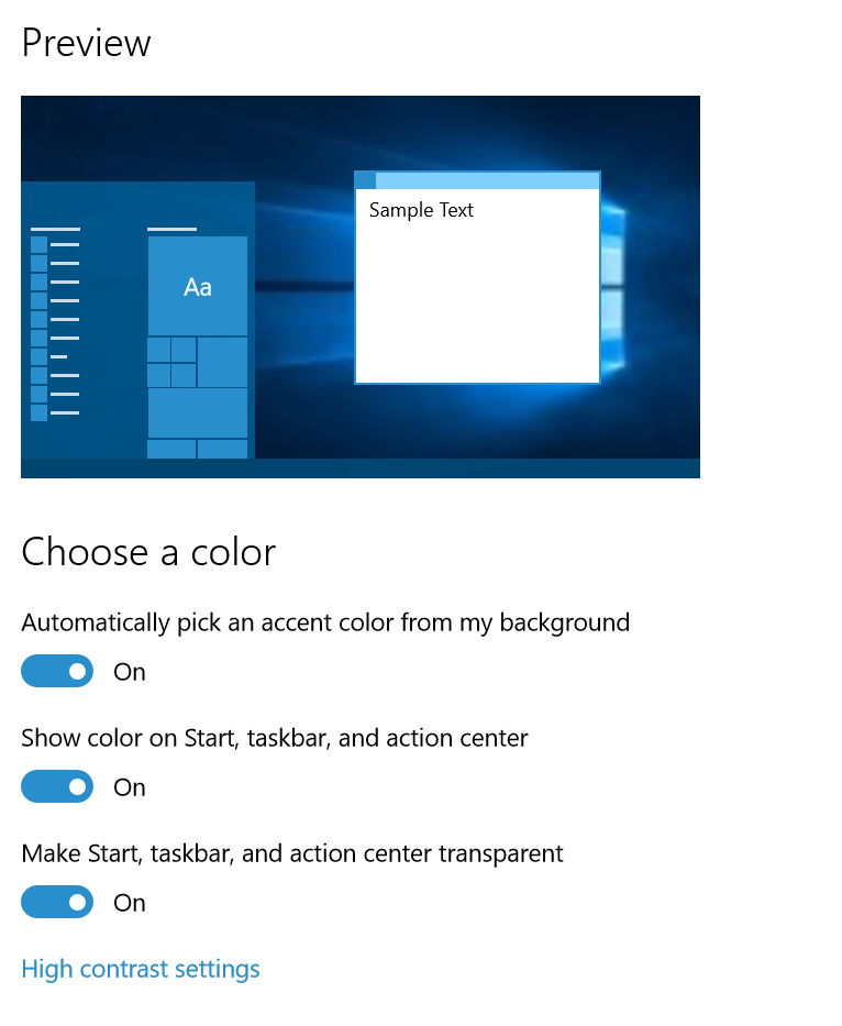 Color-Option Build 10525