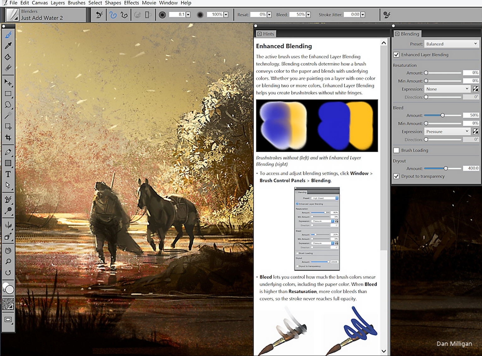 Corel Painter 16 Gains Sound Sensitive Brushes Promises More Realistic Effects