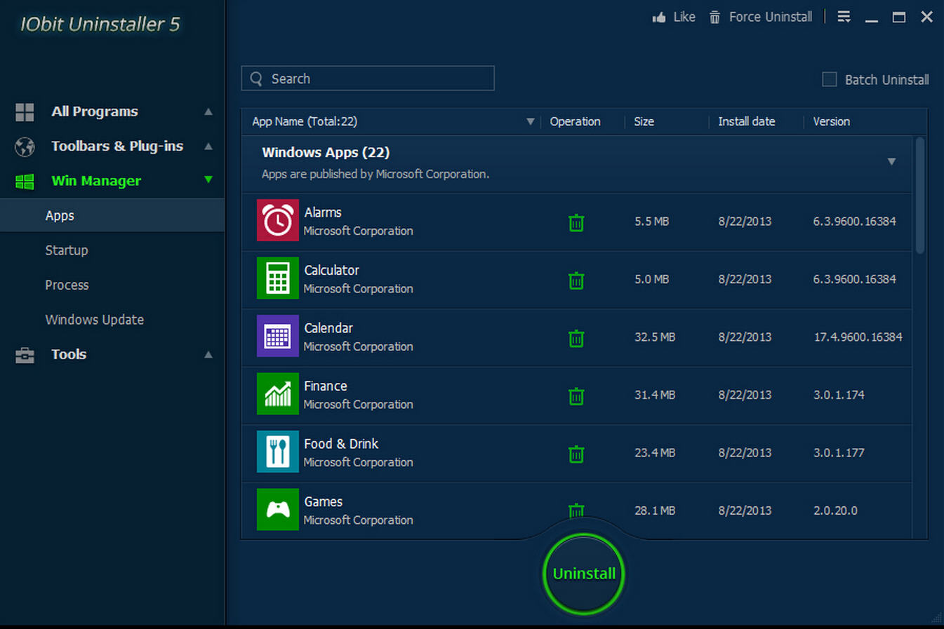 IObit Uninstaller 5 adds even more PC cleanup power  Iobit
