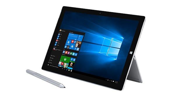 Surface Pro 3 Windows 10