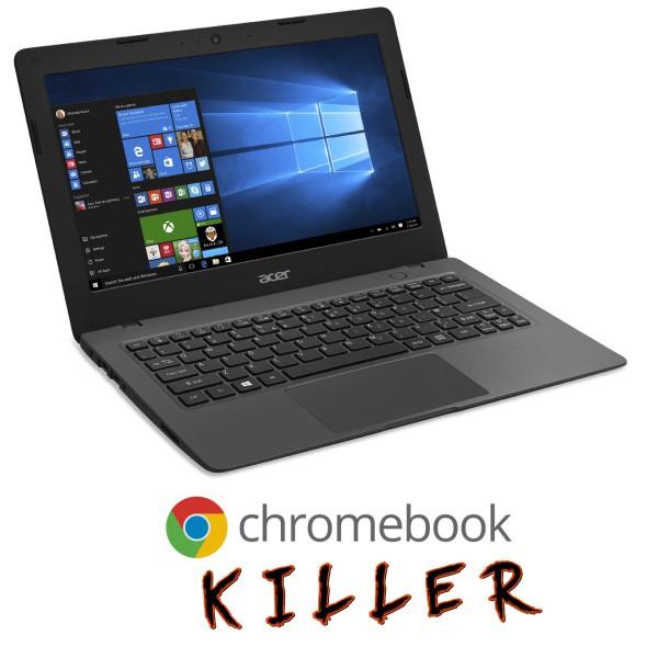 Acer Aspire One Cloudbook is a Windows 10-powered Chromebook killer