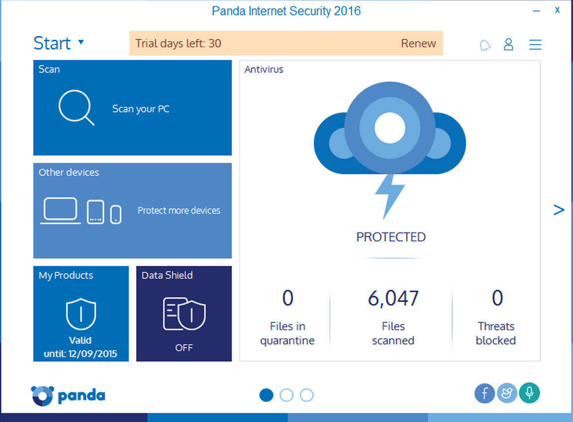Panda security releases 2016 range for Best impact windows reviews
