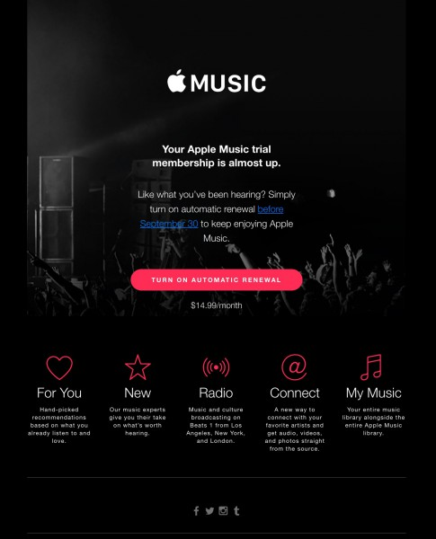 Apple Music Reminder