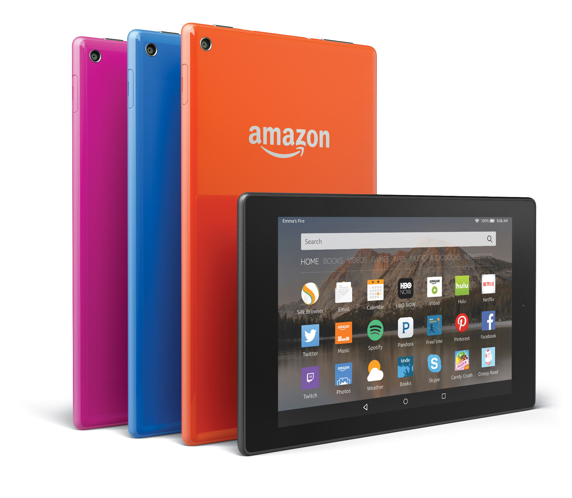 Amazon announces three new tablets -- Fire HD, Fire, and