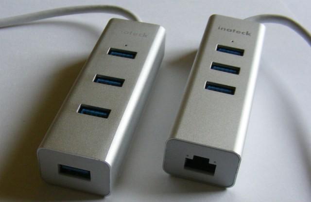 Inateck USB hub Ethernet adapter 2