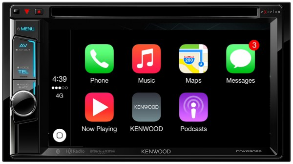 Add Apple CarPlay to your existing vehicle with Kenwood