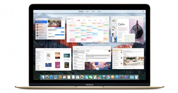 MacBook and El Capitan