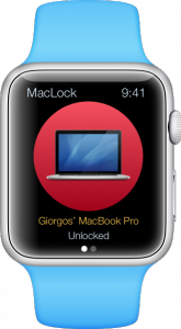 MacLock TouchID Apple Watch unlock Mac