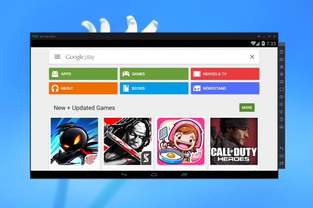 Play Android games on your Windows desktop with Nox APP