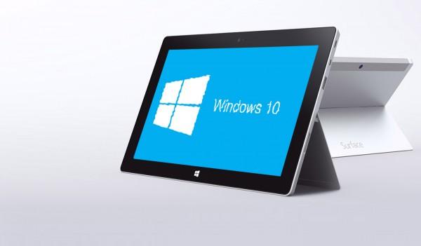 Surface 2 WIndows 10