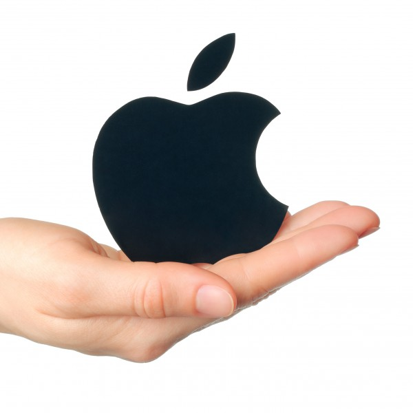 applelogoinhand