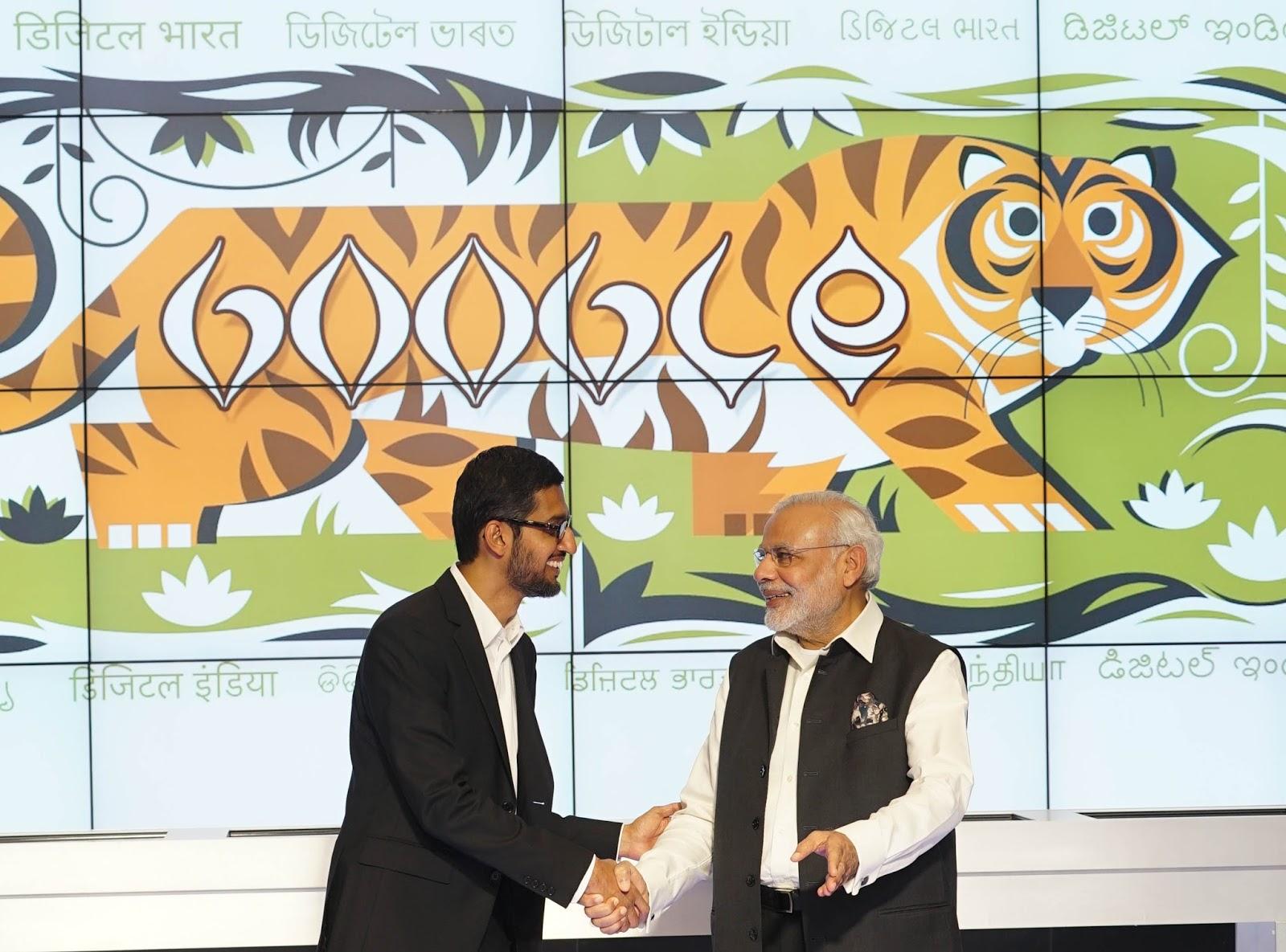 Google plans to bring one billion more Indians online