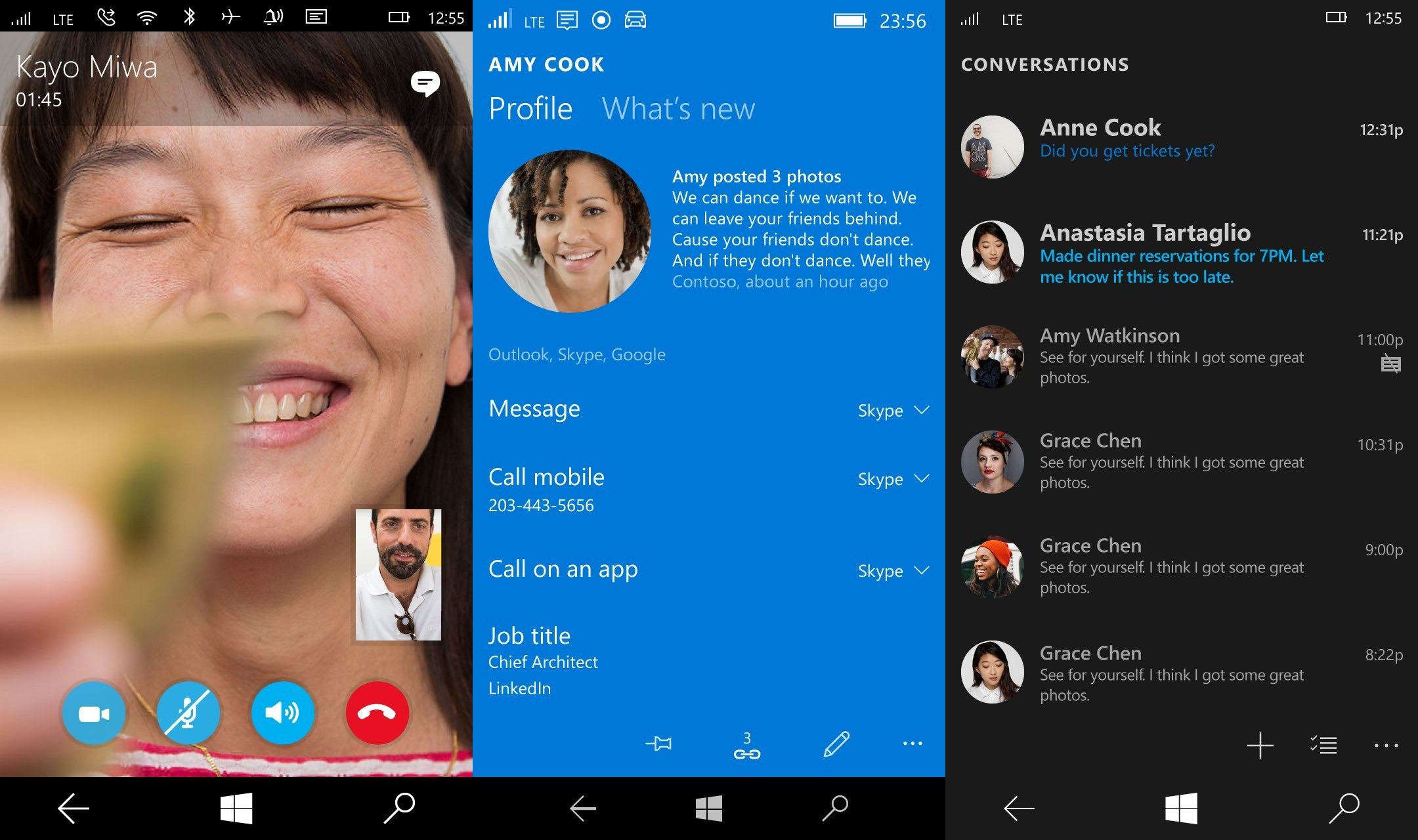 Skype for windows 8 now supports file transfer between users.