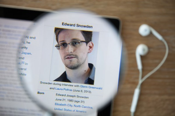 A video still courtesy of The Guardian newspaper shows former CIA employee Edward  Snowden during an