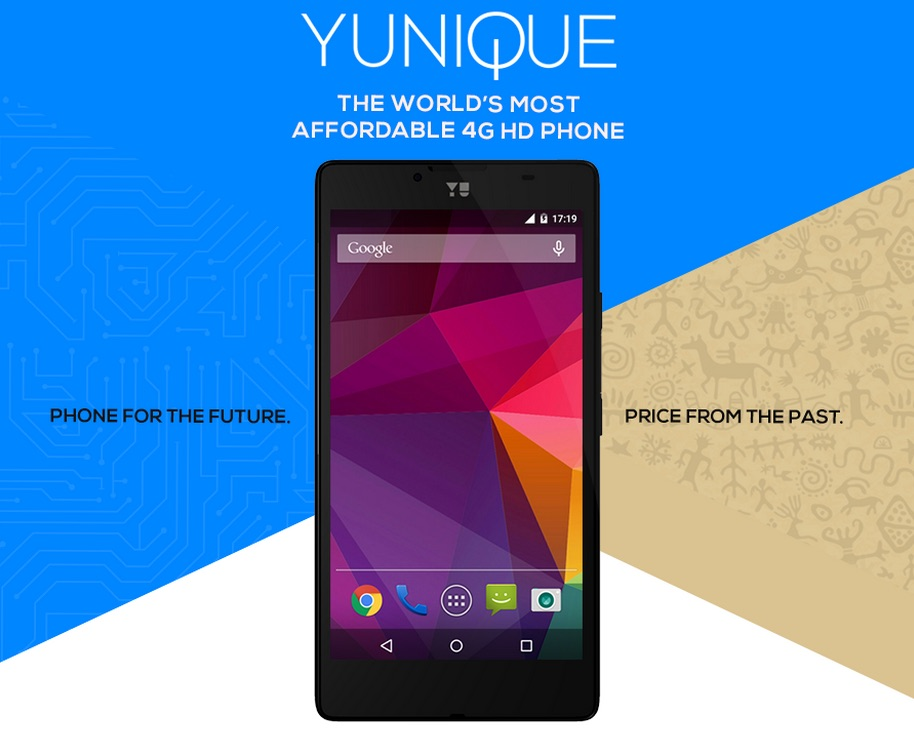 Yu Yunique Launches In India Offers 4g Lte For Rs 4999 75