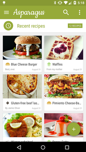 7 android apps that have successfully adapted material design asparagus1 forumfinder Choice Image