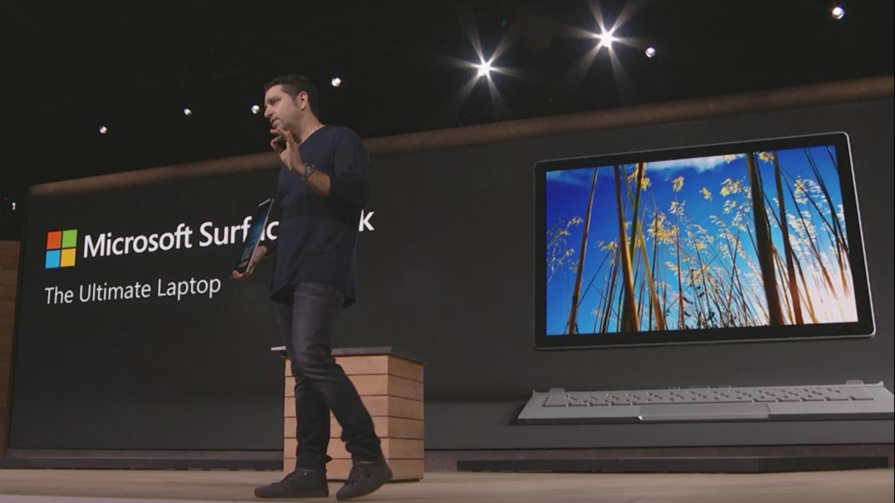 Microsoft Panos Panay Surface Book