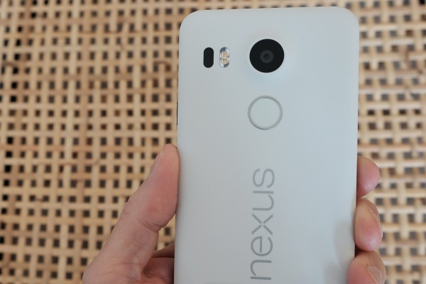 Nexus 5X Fingerprint Scanner Camera