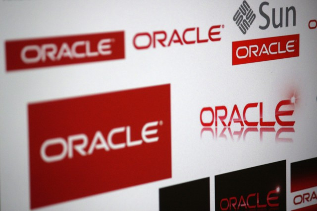 Oracle brand logo