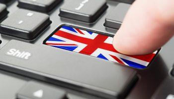Union flag keyboard
