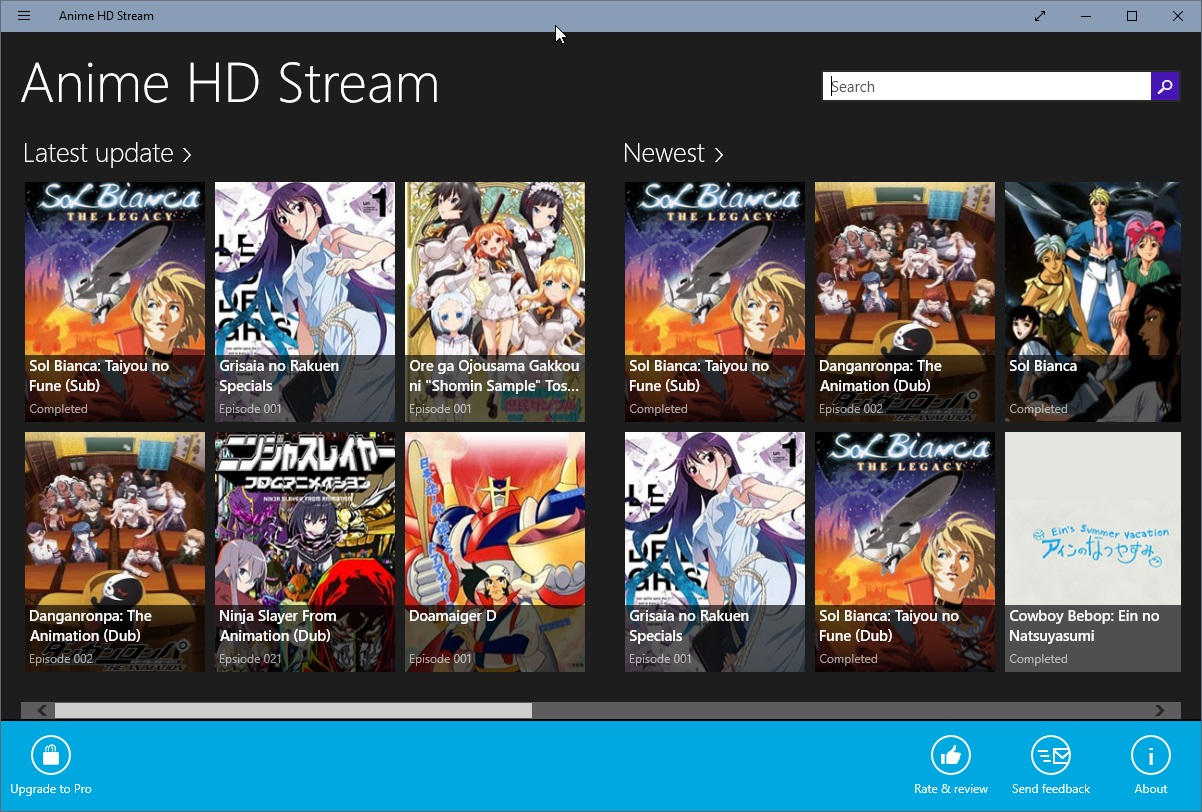 Cartoon HD Stream and Anime HD Stream