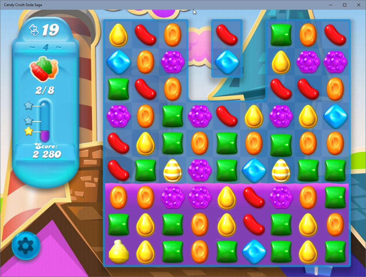 how to make a candy crush game in gamesalad