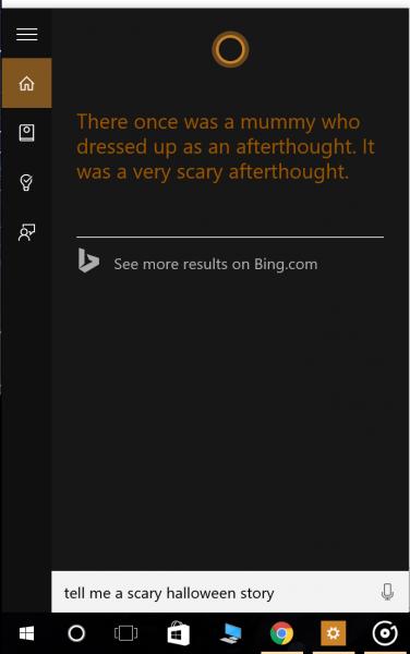 Celebrate Halloween With Microsoft By Using Cortana And Bing