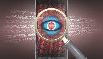 Mobile data spy
