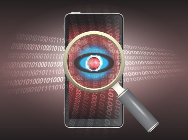Mobile data spy