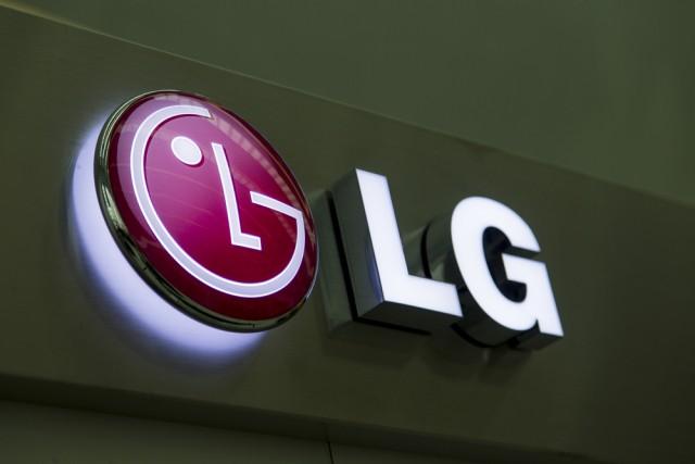 LG logo sign
