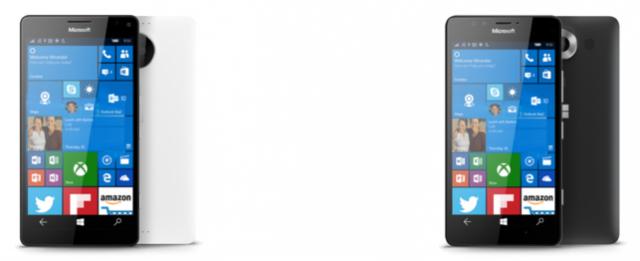 Lumia 950 Lumia 950 XL Microsoft Windows 10 Mobile