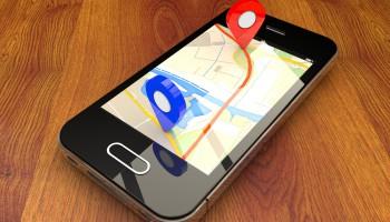 Mobile location pin