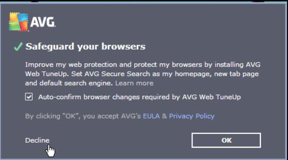 AVG force-installed vulnerable 'broken' Chrome extension