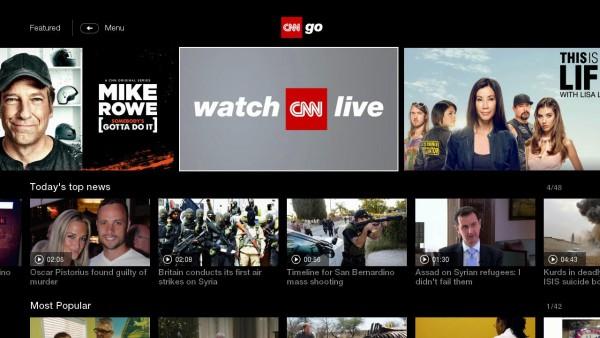 CNNgo-home-screen
