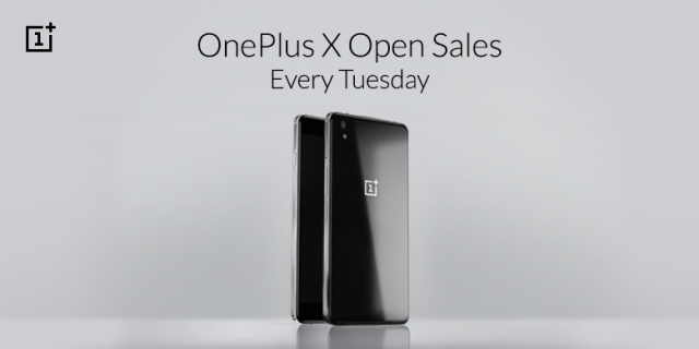 OnePlus X open sales