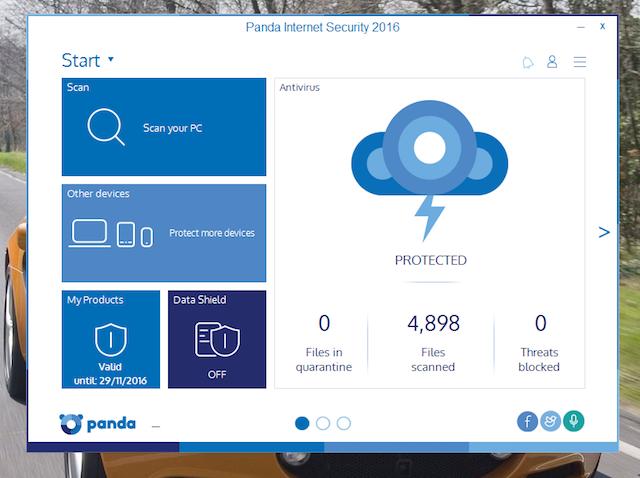Panda Internet Security 2016 1