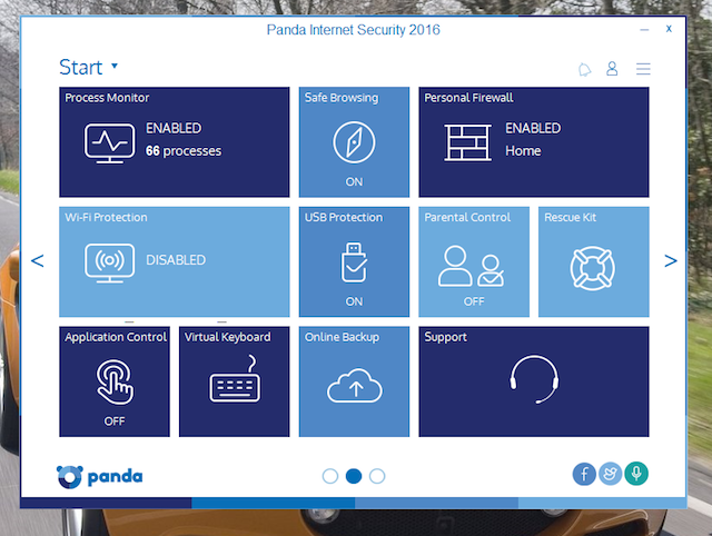 Panda Internet Security 2016 B
