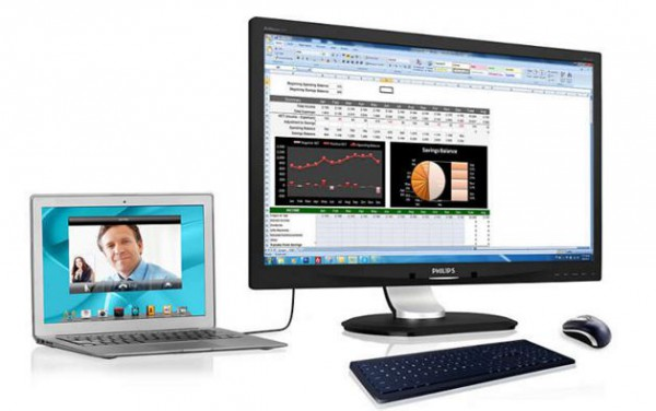 Philips Announces 23 Inch 1080p Monitor With Integrated