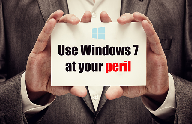Windows 7 peril