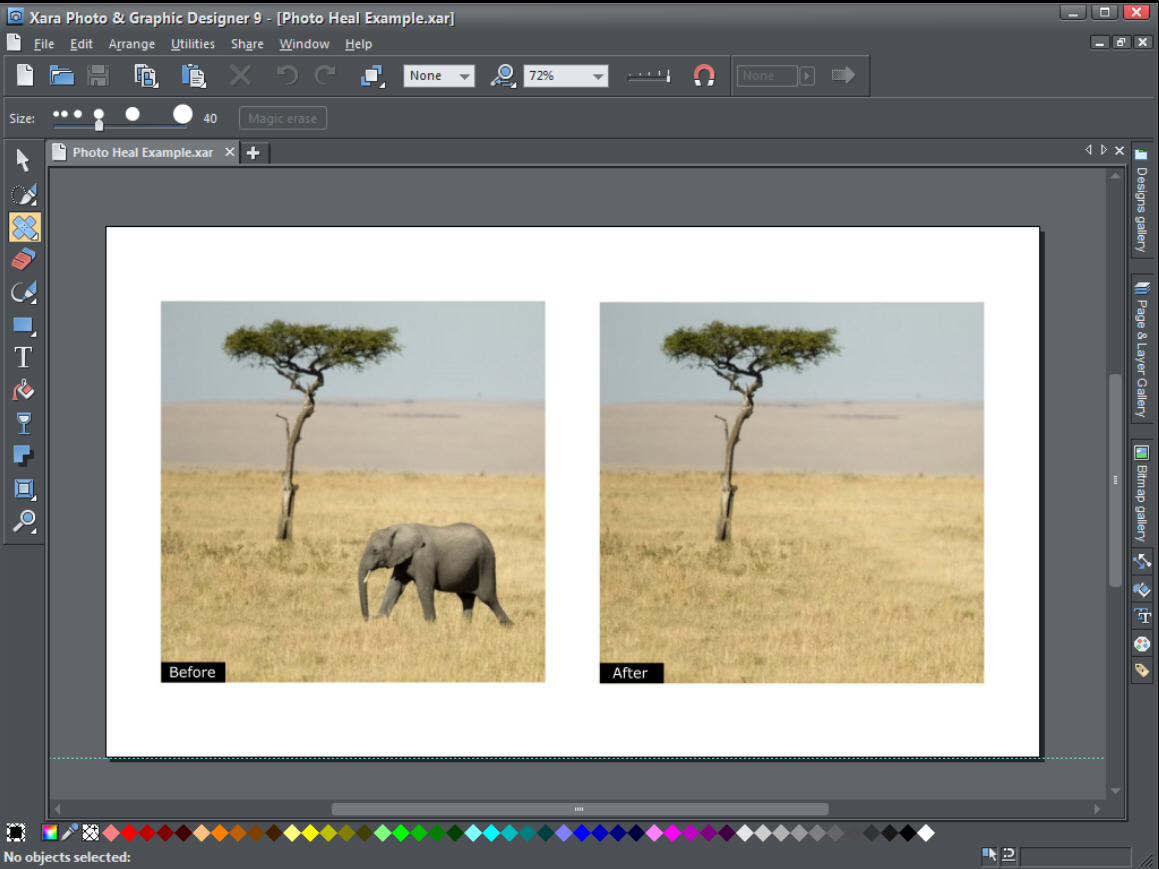 Xara Photo & Graphic Designer 15.0.0.52288
