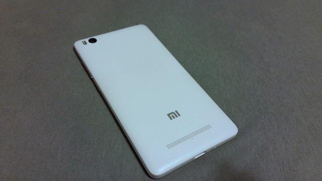 Xiaomi Mi4c back