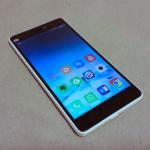 Xiaomi Mi4c front