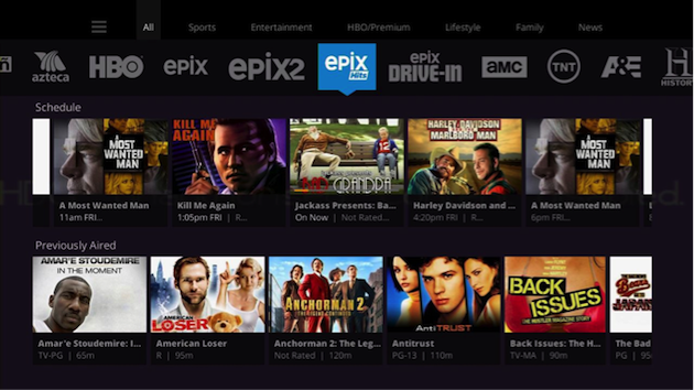 us app sling tv live and on demand id