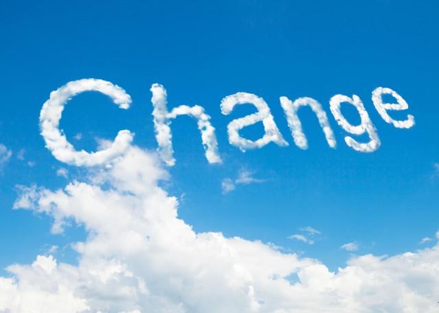 Change cloud clouds
