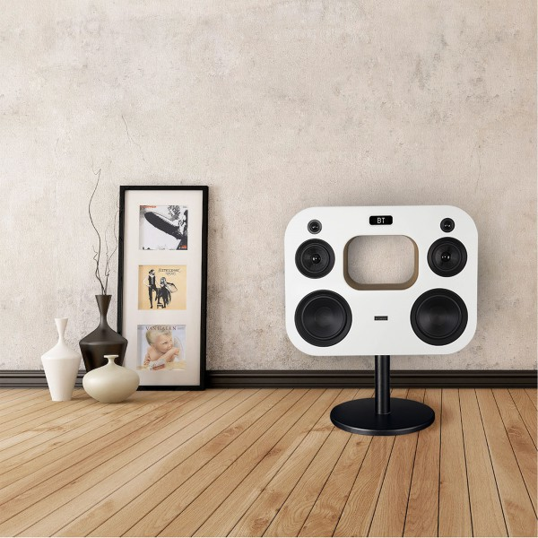 Fluance Fi70 is a high-quality and elegant home Bluetooth speaker