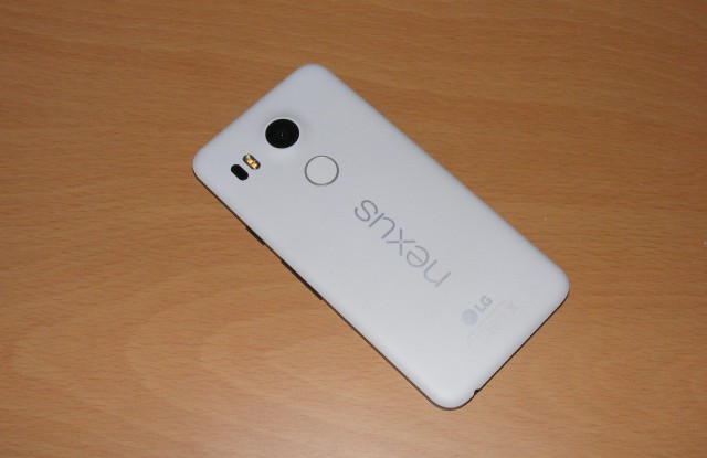 Google Nexus 5X Back
