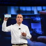 Intel RealSense 3D camera smartphone